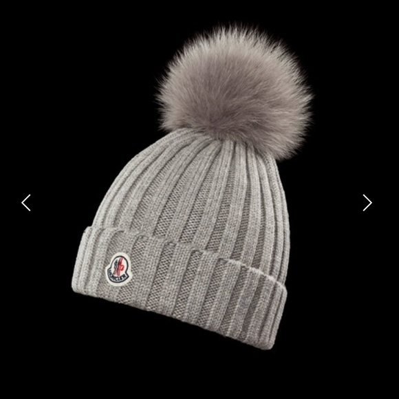 Moncler hat with Pom Pom 78ff08168b7
