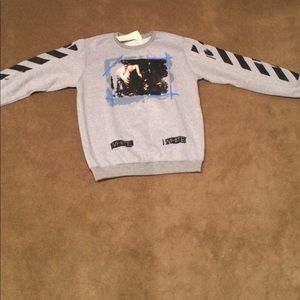 Off-White Tops - Off-White Long Sleeve Shirt