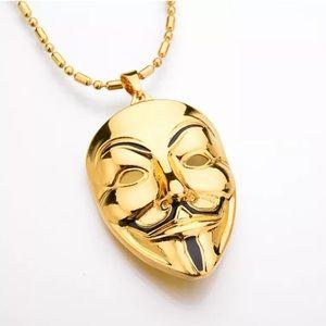Other - Gold Vendetta Mask Chain