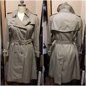 Burberry Jackets & Blazers - Burberry Prorsum Khaki long trench coat