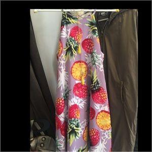 Entro Stylish Pineapple Dress or tunic