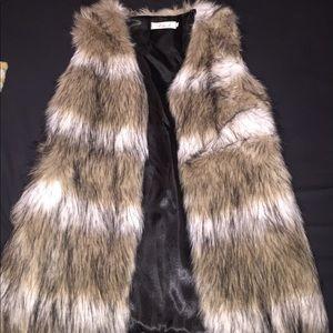 chicwish Jackets & Blazers - New! Fur vest!