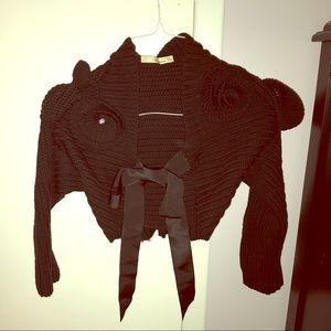 Blumarine Sweaters - Blumarine 100% virgin wool bolero cardigan