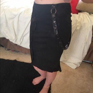 Lip Service Dresses & Skirts - Lip Service SteamPunk Skirt-XSMALL