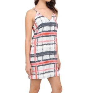 Jack by BB Dakota Dresses & Skirts - Tie-dye plaid dress