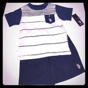 U.S. Polo Assn. Other - KIDS Polo Shorts Set