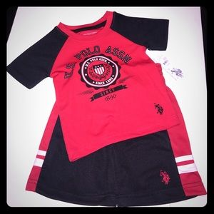 U.S. Polo Assn. Other - Kids Polo athletic Shorts Set