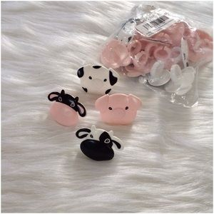 Other - Bag of 23 Farm Animal Rings