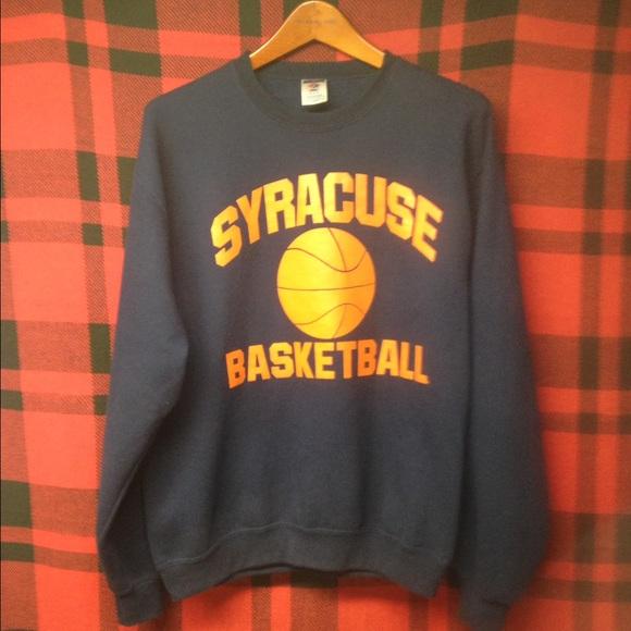 Shirts Guc Syracuse Basketball Sweatshirt Szm Poshmark