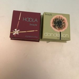 Benefit mini hoola and mini dandelion