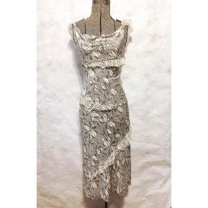 Diane von Furstenberg Dresses & Skirts - Ruffles lace Sexy dress 👗