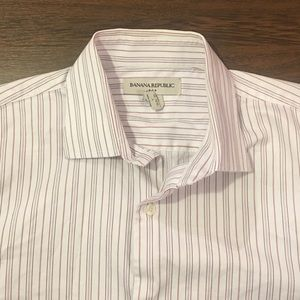 Banana Republic Other - Banana Republic Button Up Dress Shirt Large