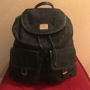MCM Handbags - MCM nylon backpack