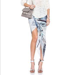 Helmut Lang Dresses & Skirts - $265 HELMUT LANG twisted jersey skirt