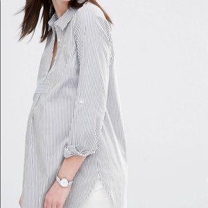 Mama Licious Tops - ASOS Mamalicious pin stripe shirt
