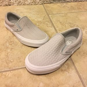 234776b428 Vans Shoes - Vans EMBOSSED WOVEN SUEDE SLIP-ON