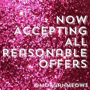 Other - Make an offer 💜💜