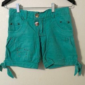 Summer mint shorts