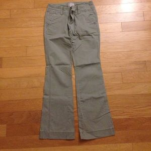 American Eagle Outfitters Pants - American Eagle Bootcut Olive Green Pants