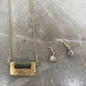 Jewelry - Brass necklace from rwanda