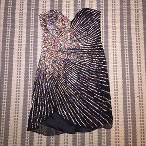 Terani Couture Dresses & Skirts - 100% Silk Mini black dress
