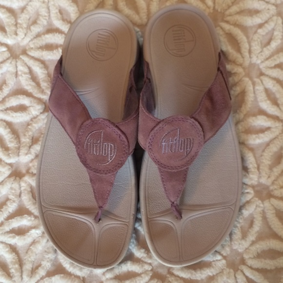 cd0a149dd fitflops Shoes - LAVENDER FITFLOPS SANDALS SIZE 7
