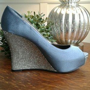 Lulu Townsend Shoes - Lulu Townsend Mahala Wedge Pumps