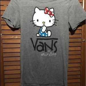 Vans Tops - Vans Hello Kitty shirt 💕
