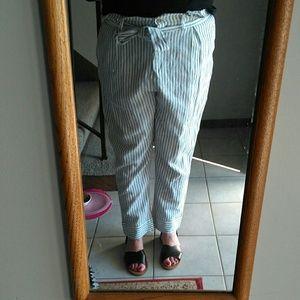 WHO WHAT WEAR Pants - NWOT - Paper Bag Pants