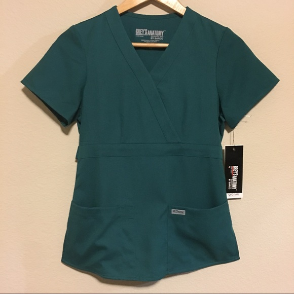 Barco Tops Greys Anatomy Scrubs 4153 Xs Reg Nwt Poshmark