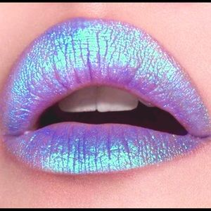 Lime Crime Other - 🦄🦄💋LIME CRIME Trip Blue Metalic Lipstick💋🦄🦄
