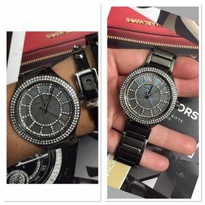 NWT Michael Kors Gunmetal Watch