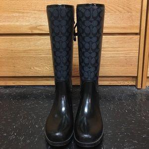 Coach Shoes - Coach rain boots