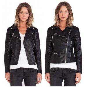 Blank NYC Jackets & Blazers - BlankNYC Vegan Leather Frankenstorm Moto Jacket