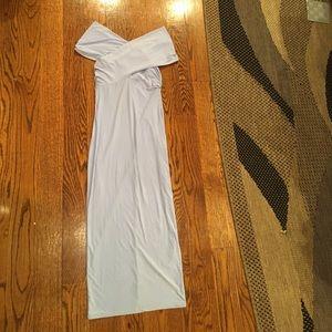 ASOS Dresses & Skirts - ASOS Crossover Off-Shoulder Midi Dress