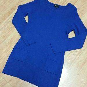 AB Studio Dresses & Skirts - Blue Knit Dress