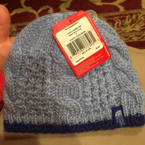 9378ab60173fe North Face cable Minna beanie (Grapemist blue)