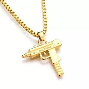 Supreme Jewelry - Gold Uzi Chain SUPREME