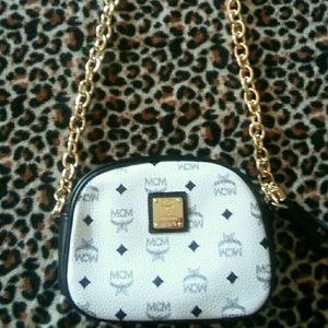 MCM Handbags - MCM White Crossbody