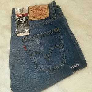 Levi's Other - Mens Levis 514 Slim Straight Jeans Size 30/30