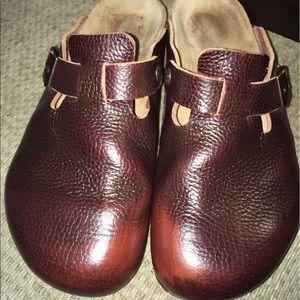 Birkenstock Other - Birkenstock Leather Slip On Sandals Size 43