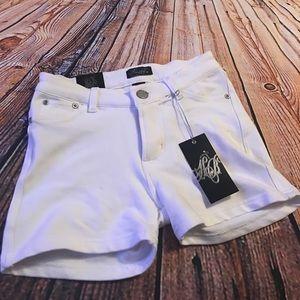 honey bun Pants - NWT white Jegging shorts