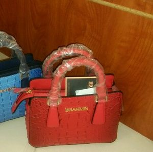 Brahmin Handbags - Brahmin Red Crossbody