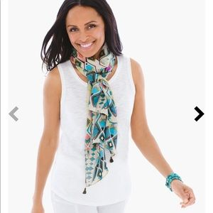 Chico's Accessories - Lizbeth ikat scarf