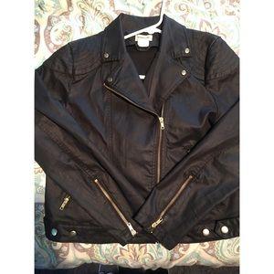 H&M Jackets & Blazers - Rockabilly black jacket