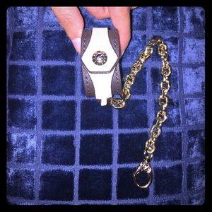 henri bendel Accessories - Henri Bendel scarf or gloves Keyfob Holder