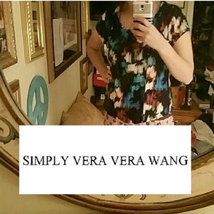 Watercolor Rayon Tee blouse Simply Vera PL /m