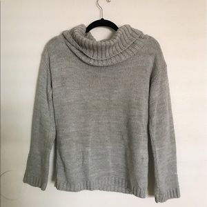 Boohoo Sweaters - Boohoo cowl neck heather grey sweater