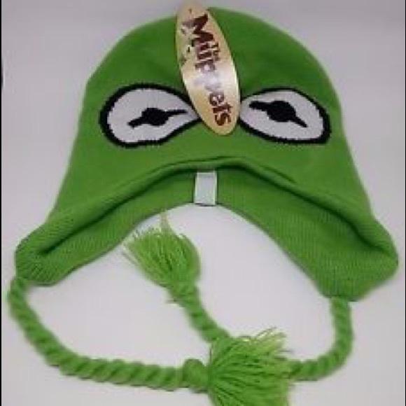 Kermit the Frog Beanie. M 58fc4478522b45f4120d52a2 e59e49f3a3c