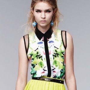 Prabal Gurung for Target Tops - Prabal Gurung for Target sleeveless blouse